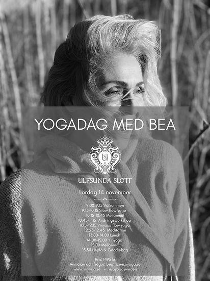 Yogadag med Bea på Ulfsunda slott cover.