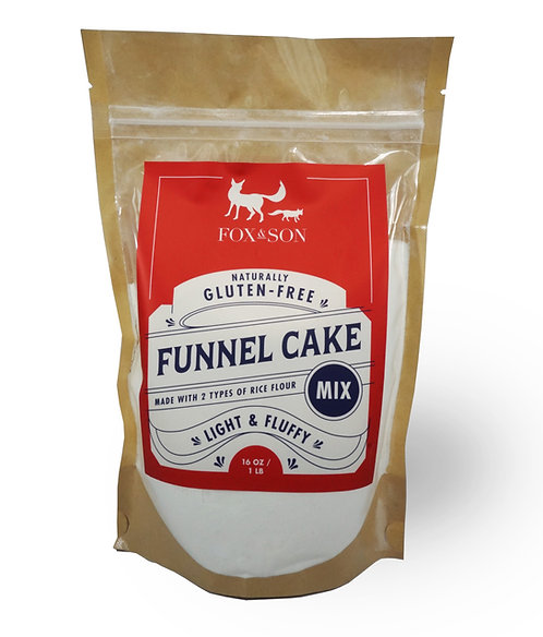 Funnel Cake/All Purpose Mix (1 Pound) - Please Select if for Shipping or Pick Up