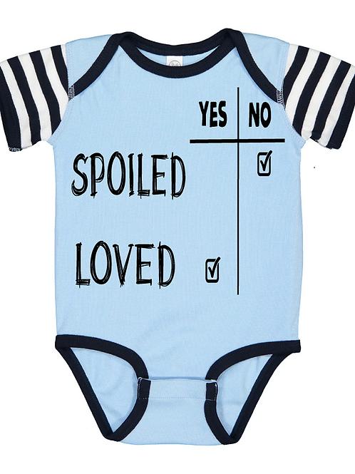 Spoiled/Love Onesie