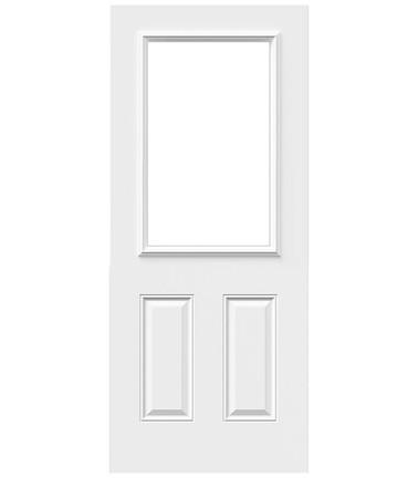 Porte 4 panneaux acier 22 x 36 po