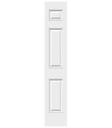 Porte 6 panneaux acier sidelite