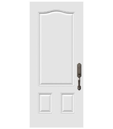 Porte 3 panneaux tête gendarme