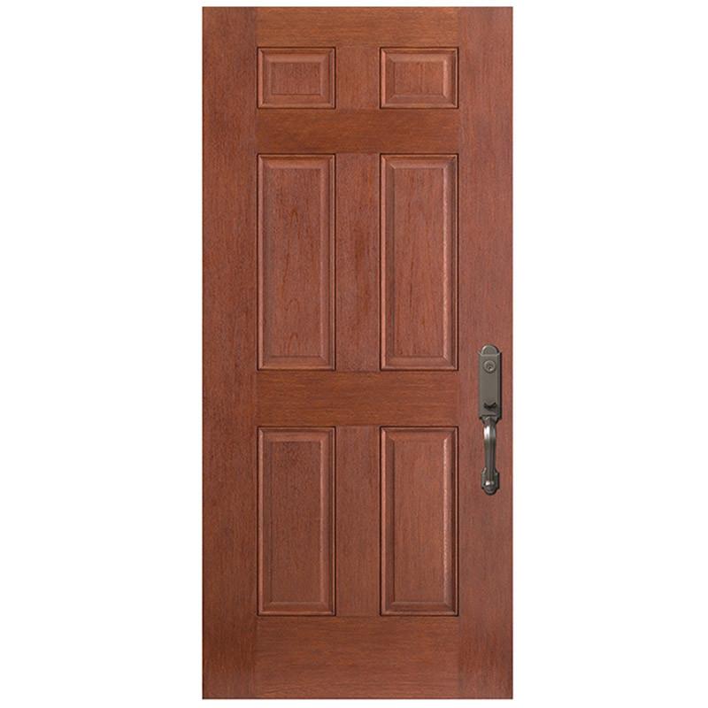 Porte 6 panneaux fibre de verre