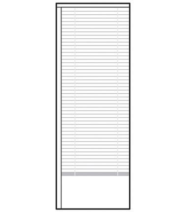 Stores Discrétion 22 x 64 po
