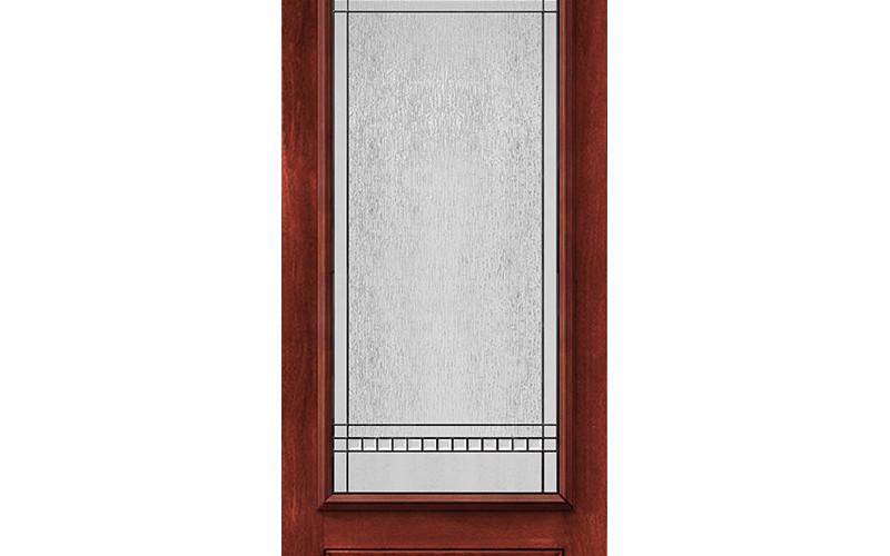 Porte Moncton vitrail Chanelle