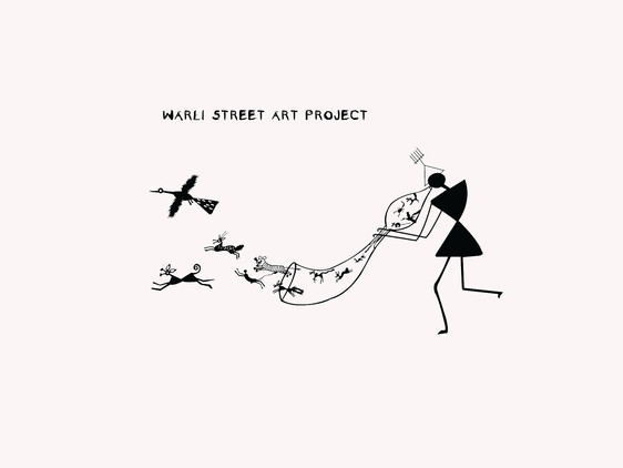 Warli Street Art Projects - Walkeshwar Road