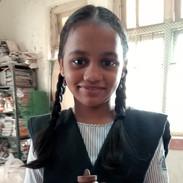 Student at Dongri Municipal school