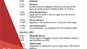 "Upcoming event: Minerva Zoom Workshop ""Egyptiaca outside of Egypt"" on April 7-8, 202"