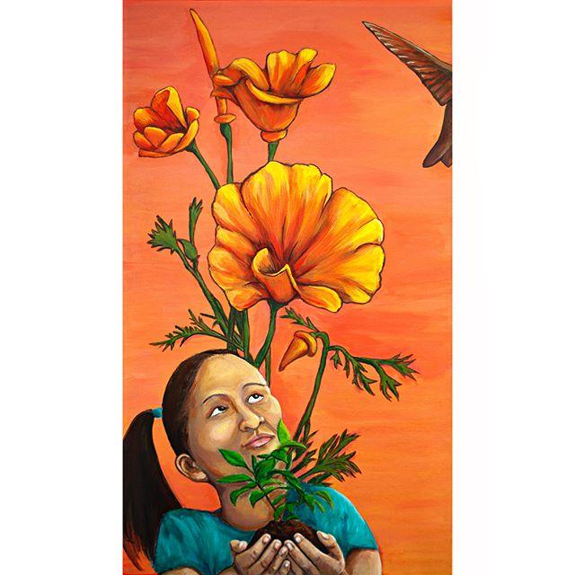 California plant painting series (1)