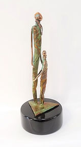Ema Bronze Sculpture