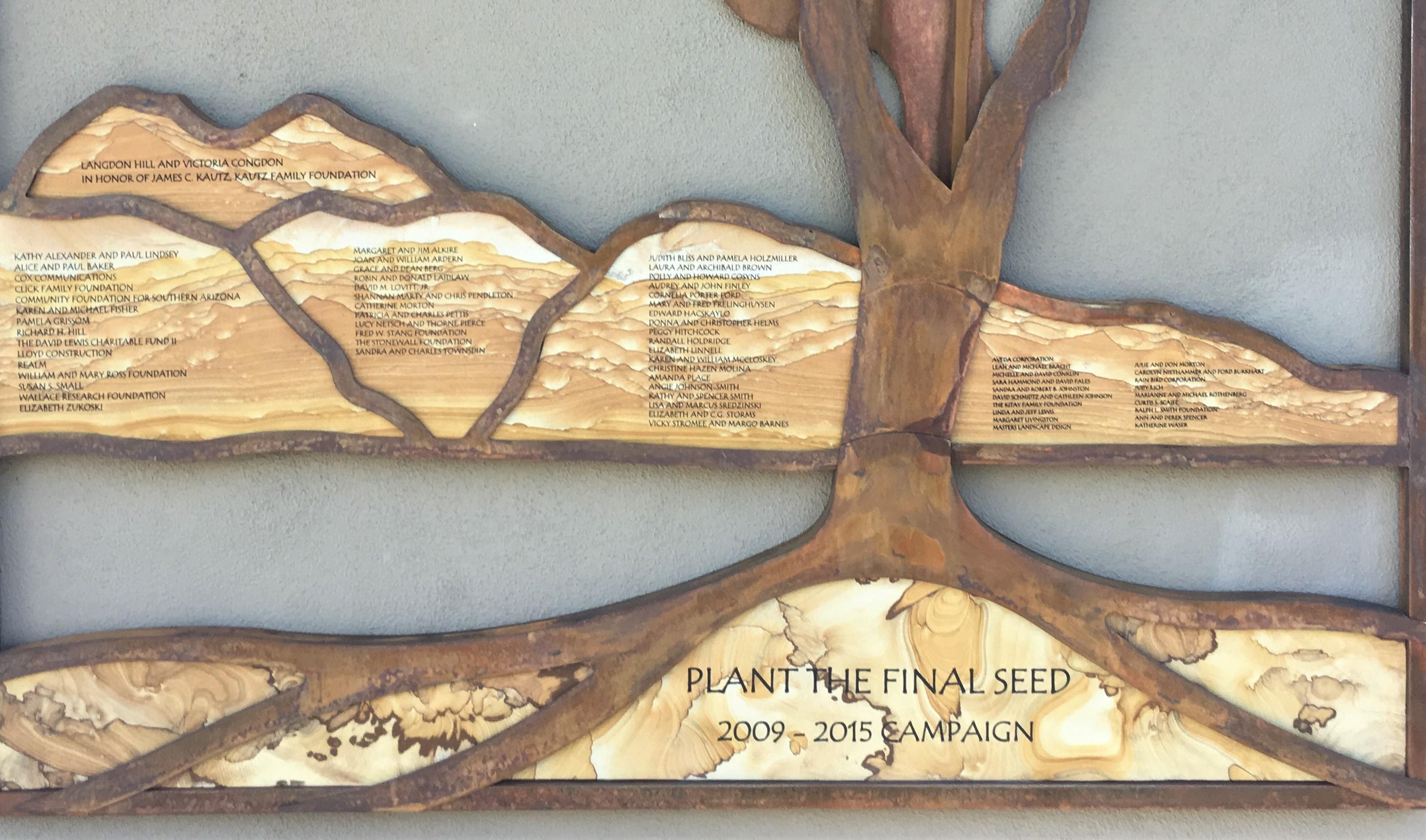 Tucson Botanical Gardens Plant the final