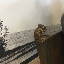 Mouse on Truly Nolen Bench