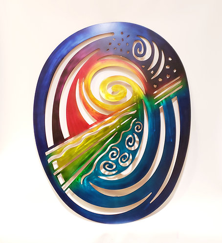"Elements Wall Art 36"" x 46"""