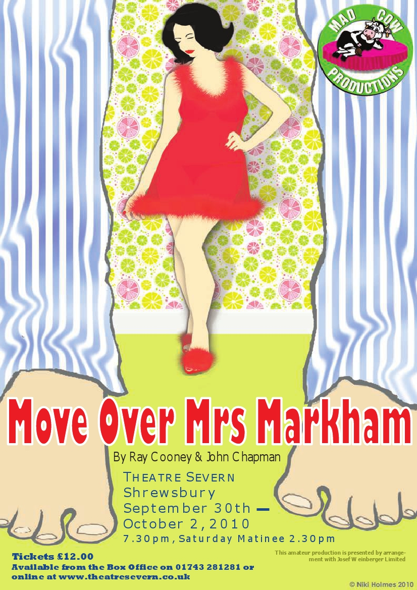 Move over Miss Markham - MCP Poster