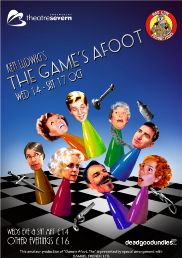 The Games Afoot Poster