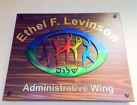 Ethel Levinson Plaque