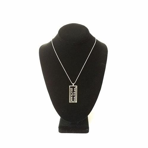 Shalom Salaam Pendant with chain