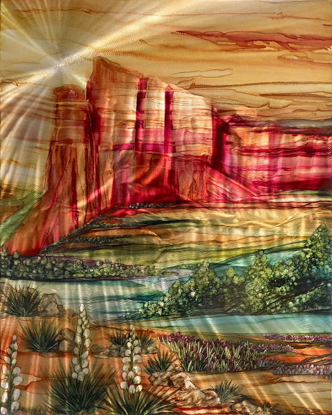 Canyon Splendor 16 x 20 Metal Print