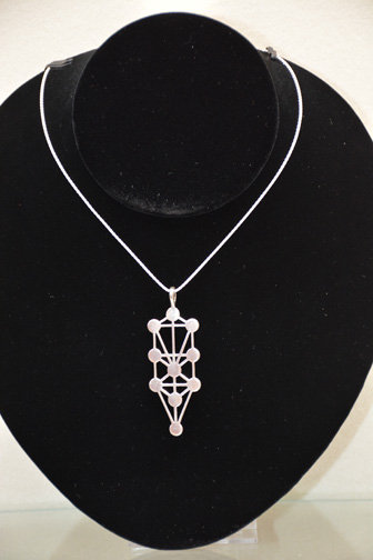 Sephirot Pendant with chain sterling silver