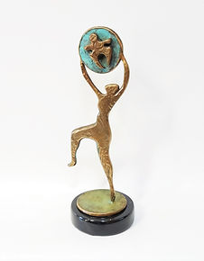 Joy Bronze Sculpture