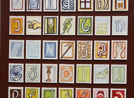 Kohlmeyer: Traditional Symbols/Cursive Aleph-Bet