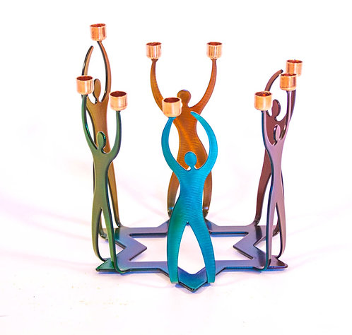 Circle of Friends Menorah