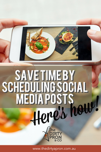 Save time by scheduling social media posts