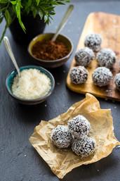 Chocolate Chia Truffles