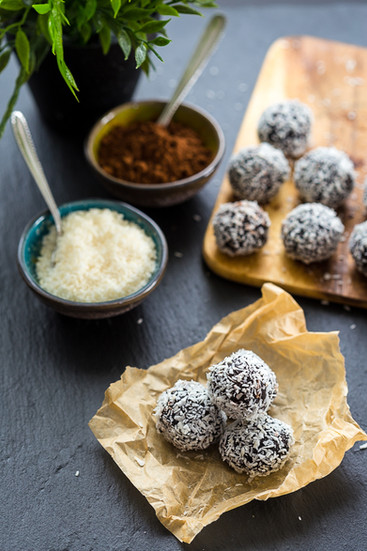 Chocolate Chia Truffles