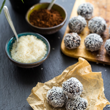 chocolate and chia truffles