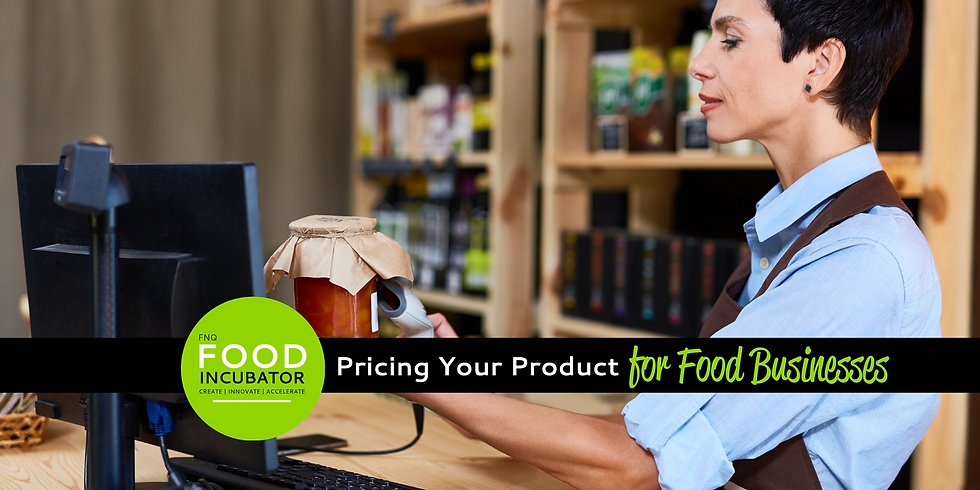 Pricing Your Products for Food Businesses