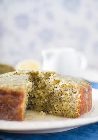 Chia & Lemon Cake