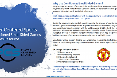 PCS Small Sided Games (All Themes) Booklet