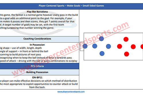 PCS Small Sided Games (Make Goals) Booklet