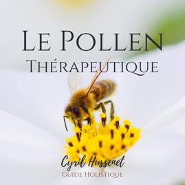 Le pollen comme outil thérapeutique.