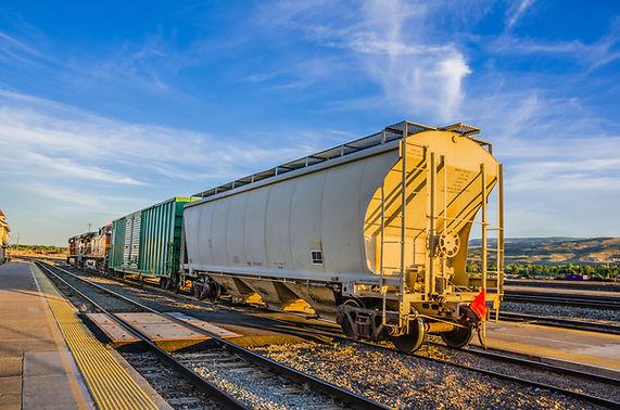Railcars in storage