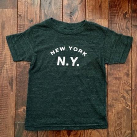 Little DILASCIA(リトルディラシア)New York N.Y. -Vintage Black