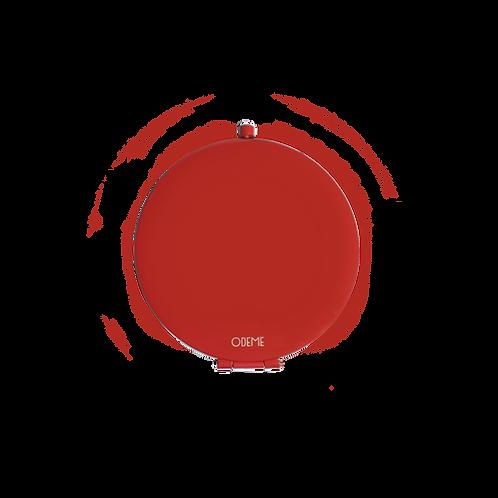 ODEME(オデム)コンパクトミラー RED