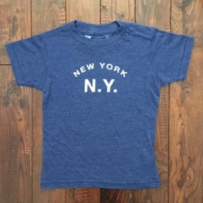 Little DILASCIA(リトルディラシア)New York N.Y. -Vintage Navy