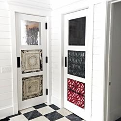Custom designed doors