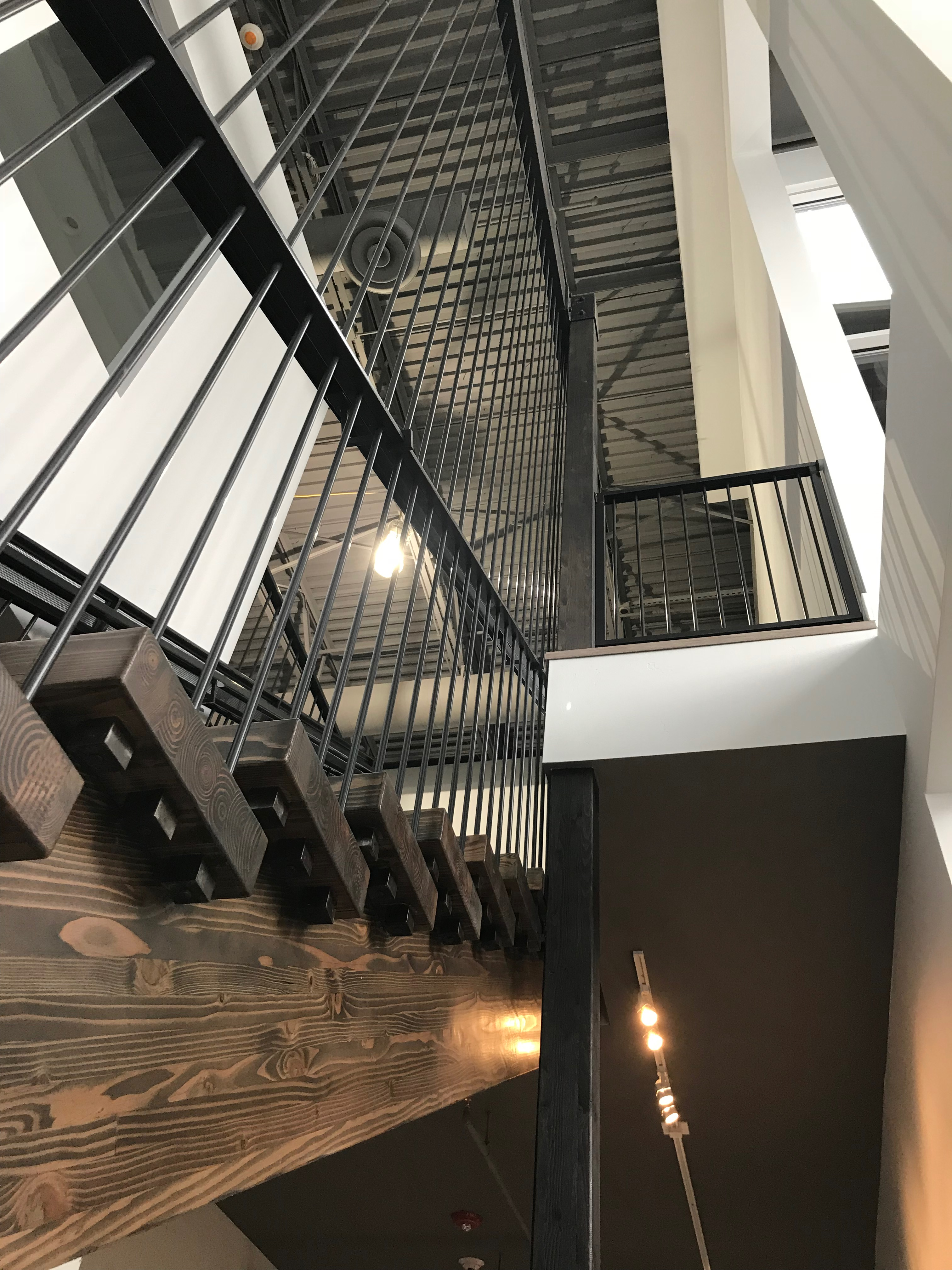 Custom steel/Timber staircase