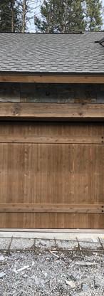 Garage door detail