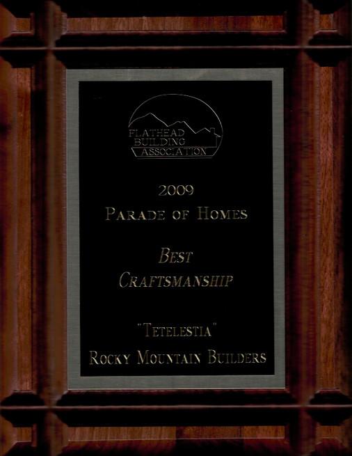 Award for craftsmanship