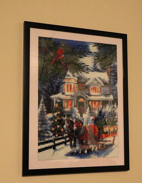 Victorian Christmas Diamond Painting [Finished Project]