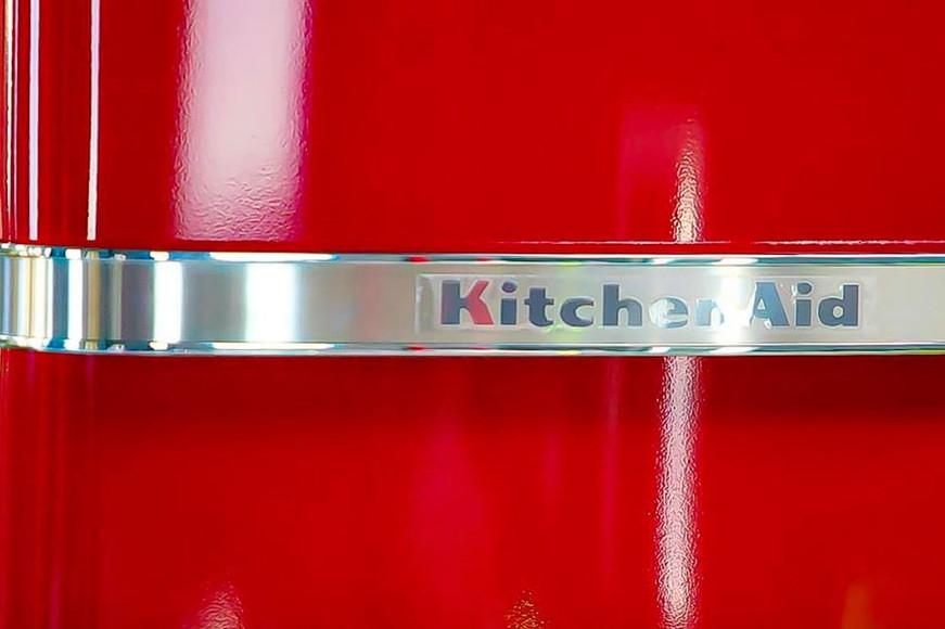 Rosso fiammante Kitchen Aid