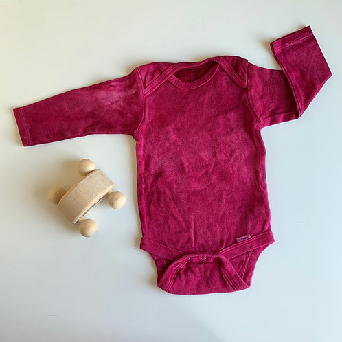 Natural Hand Dyed Onsie - Eastern Brazilwood
