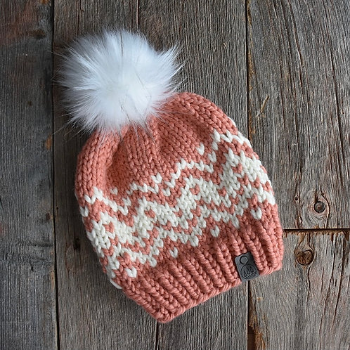Sawtooth Mountains Hat - Clay