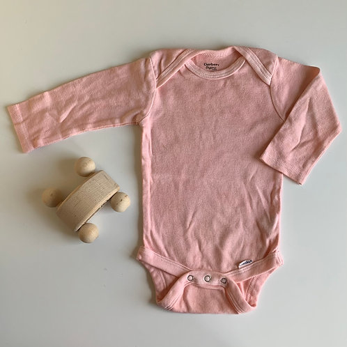 Natural Hand Dyed Onsie -Madder Root