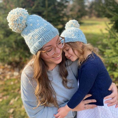 Parent and Petite Hearts Beanie -Frozen