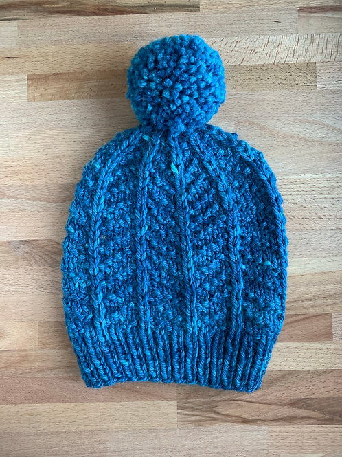 Big Blue Hand Dyed
